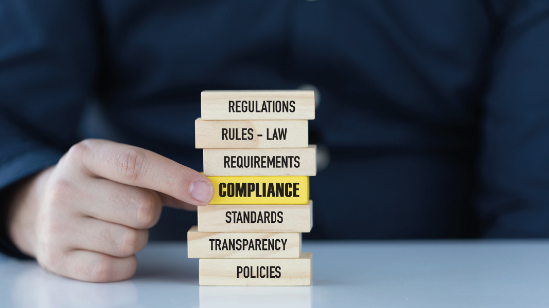 Jenga blocks compliance